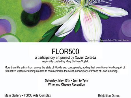 FLOR500 Exhibition Announcement