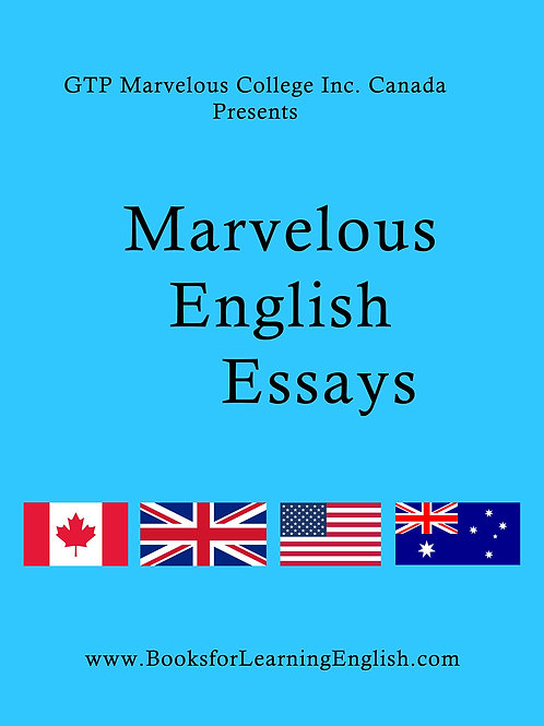 Marvelous English Essay