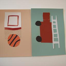 Collage Illustration (Studio Art student)