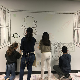Collaborative Mural (in process)