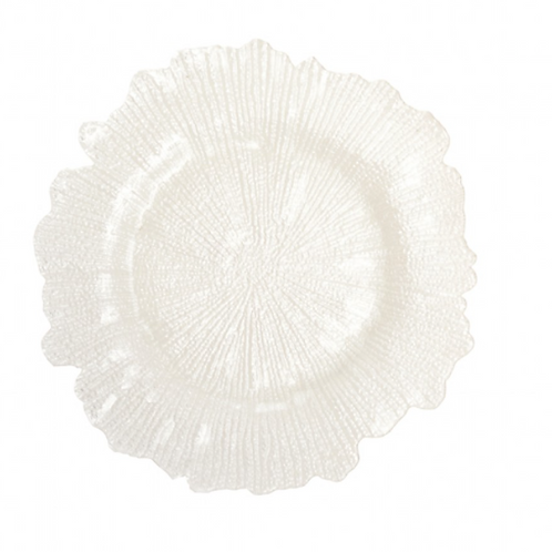 Glass Reef Charger Plate