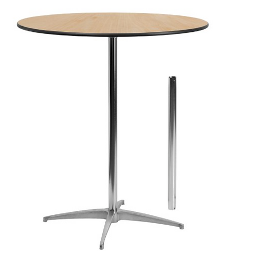 Round Belly Bar Table