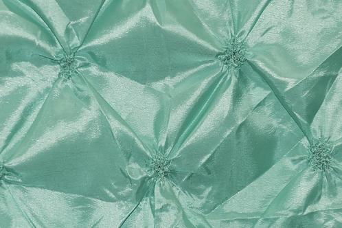 Pinwheel Button Taffeta Overlay