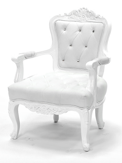 Royale White Chair