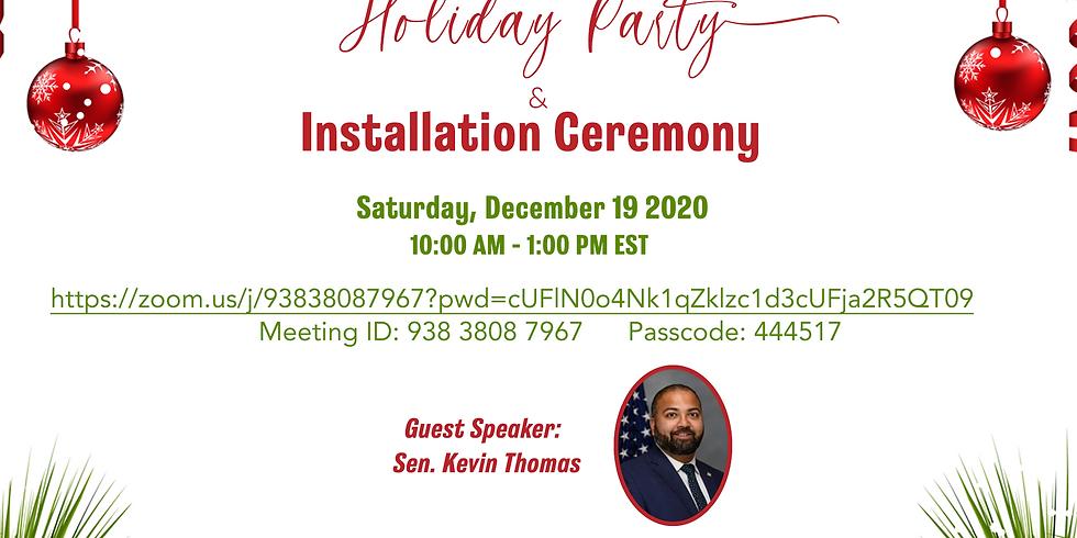 INA-NY Installation Ceremony & Holiday Party