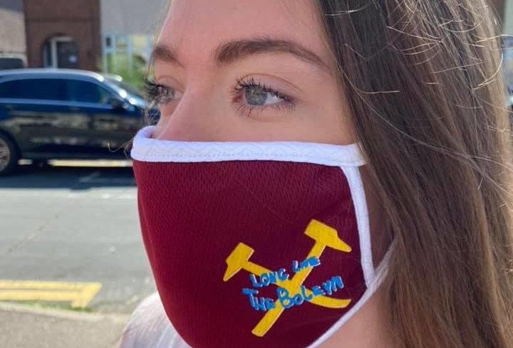 Hammers Face Covering