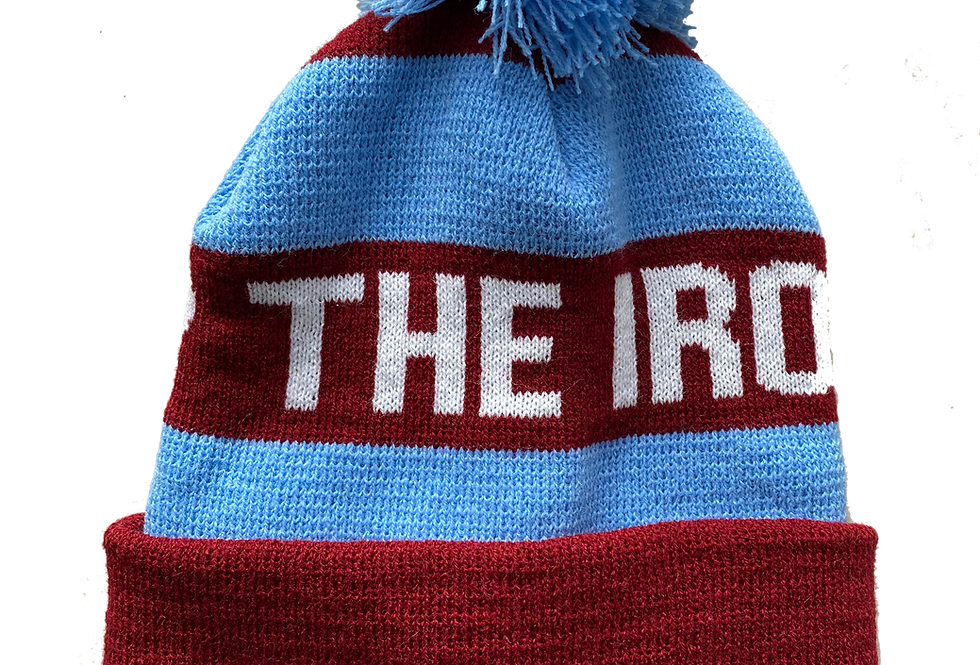 Up The Irons Bobble Hat