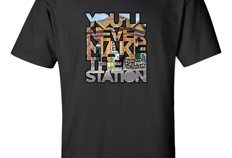 Never Make The Station T-Shirt
