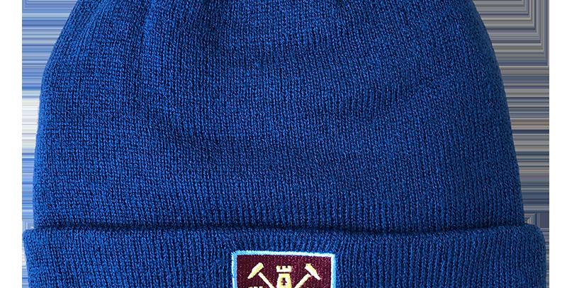 WHUFC Blue Ski Hat