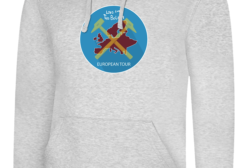 Euro Tour Map Pull Over Hoodie