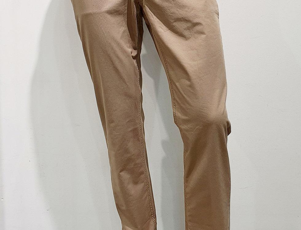"""Pantalon homme  """"CHINO"""" 5 poches  coton/élasthanne uni beige (Réf P7)"""