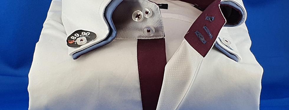 Chemise Homme satin de coton double col 3 boutons (Réf: 004)