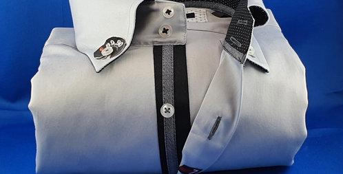 Chemise Homme satin de coton boutonnage classique (Réf: G1)