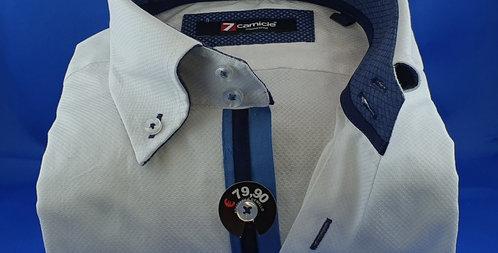 Chemise Homme Unie Blanc coton armaturé (Réf: 2)