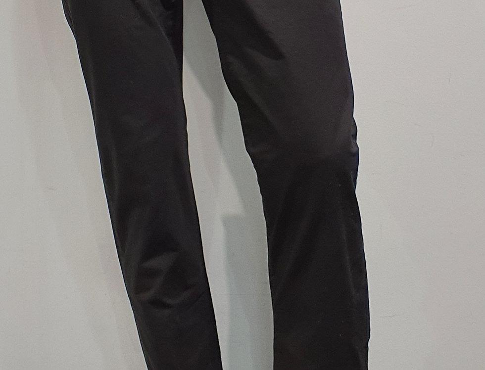 """Pantalon homme """"CHINO""""coton/élasthanne uni noir (Réf P9)"""