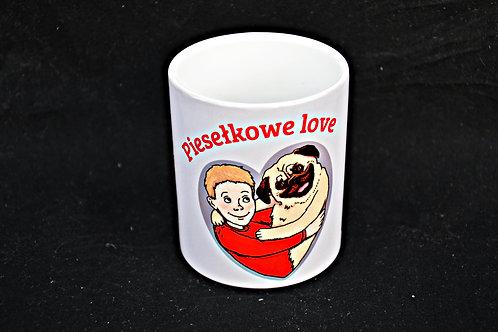 Kubek Piesełkowe Love v2