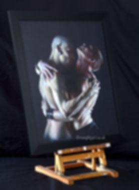 fetish naughty art naughtyart naughtyart.co.uk passion desire gay men bare bear sex embrace sexual erotic hug art artwork