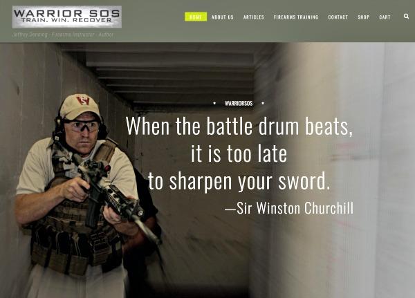 Warrior SOS Website