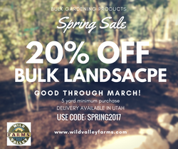 20% bulk landscape