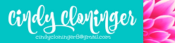 Cindy Cloninger virtual assistant home page header