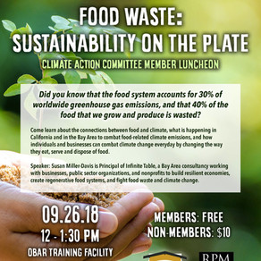 Sustainability on the Plate