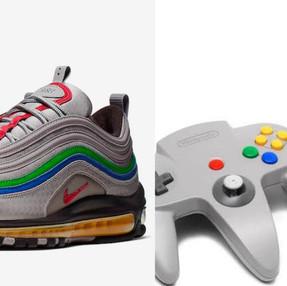 ¡Un guiño a nuestra infancia! Nike presenta los Air Max 97 inspirados en Nintendo 64