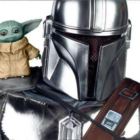 """Sabes que necesitas esta adorable base de """"Baby Yoda"""" para tu hombro"""