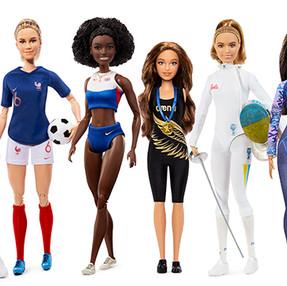 Barbie se alía con tres deportistas españolas que han roto barreras p/ inspirar a las niñas a soñar.
