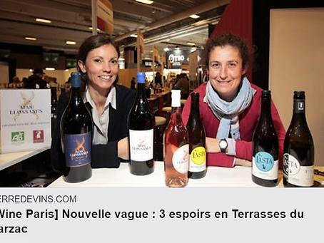 Le Vin de la Semaine acclamé à Wine Paris.