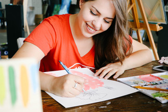 Meet the Vendors: Artist Paige Poppe