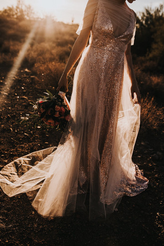 Romantic Sequins in the Desert