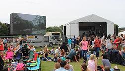 BIG Screan & Music Stage