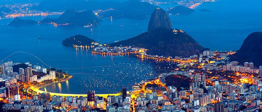 Brazil, Harbor of Rio dee Janeiro