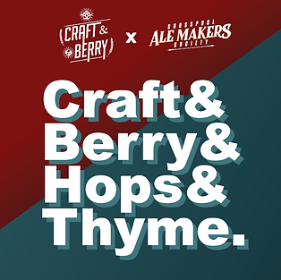 Craft & Berry X Crosspool Ale Makers Society
