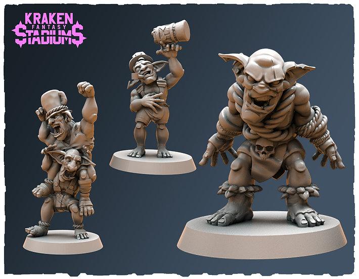 GREEN-TIDE-B (Goblin fans)
