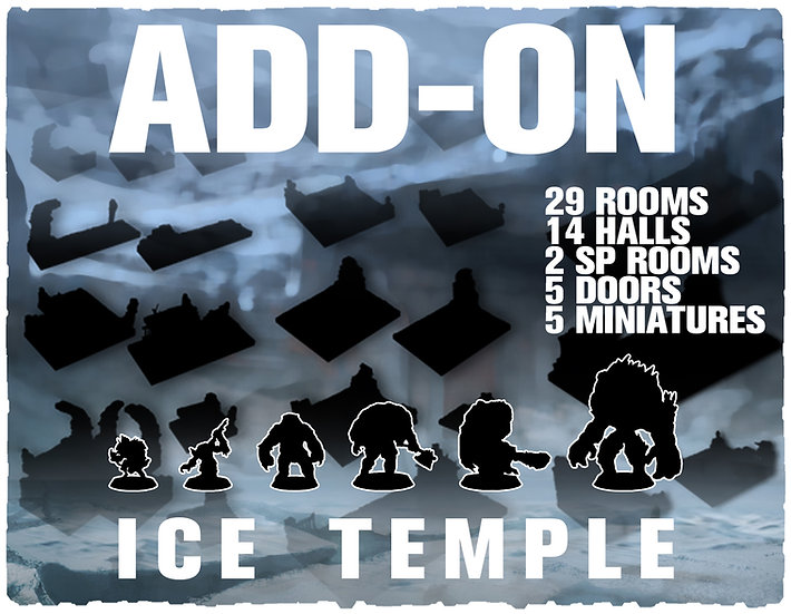 The ICE TEMPLE (CORE-SET) - ADD-ON