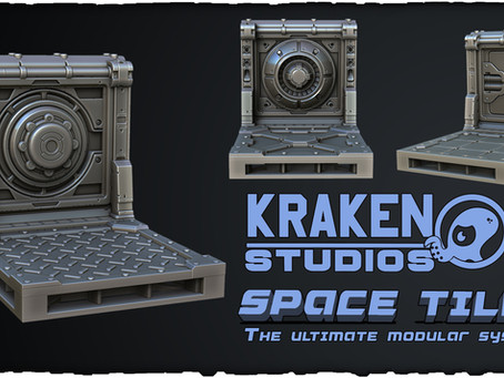 KRAKEN SPACE TILES FUNDED AT KICKSTARTER! And now what?