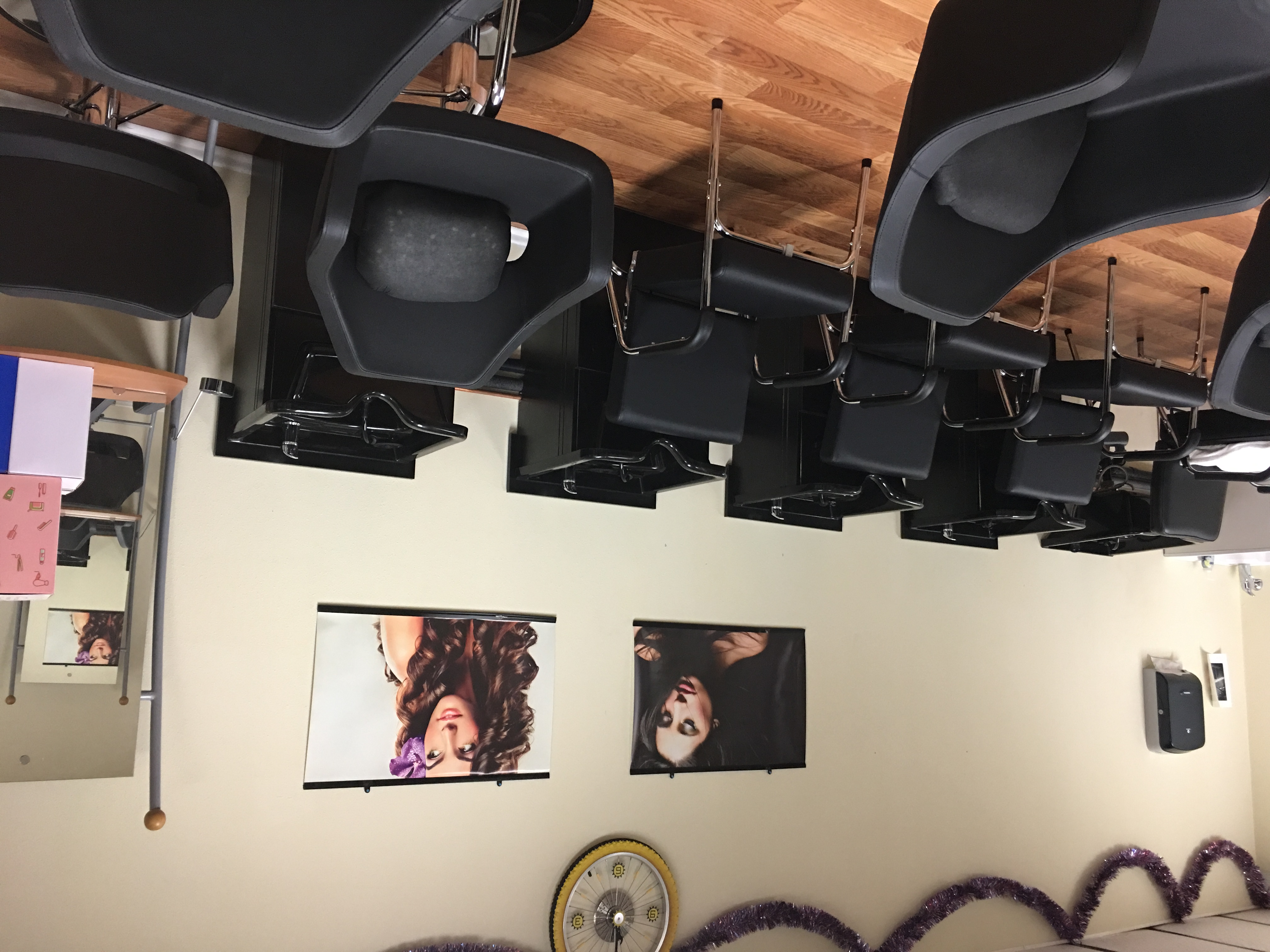 Cosmetology - shampoo chairs