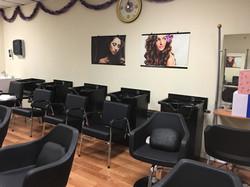 Cosmetology - shampoo chairs