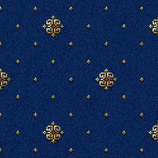 Athenia Royal Blue Motif