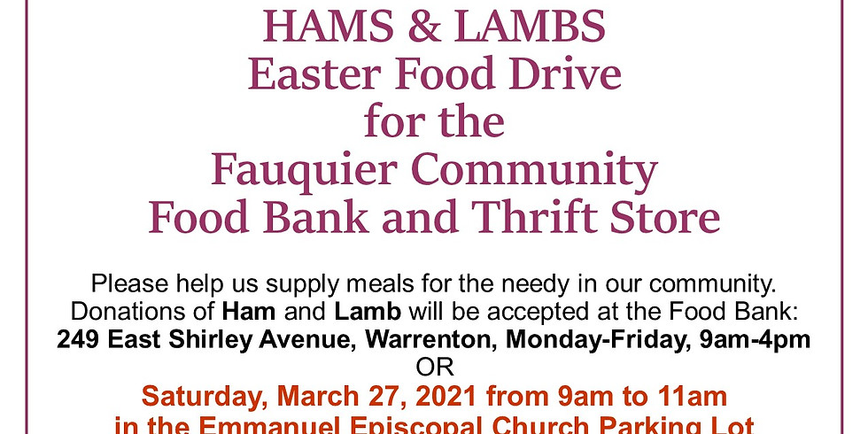 Share the Harvest Hams and Lambs