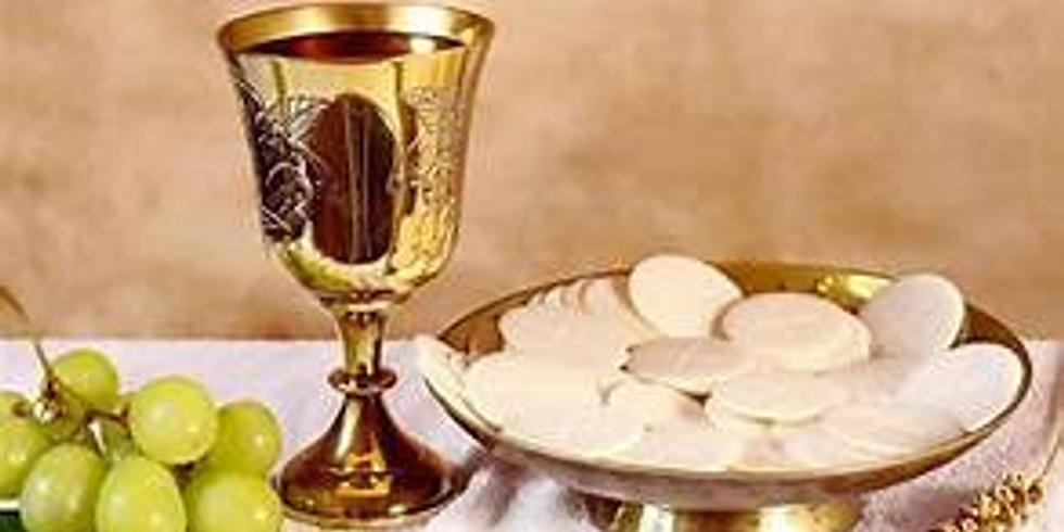 Communion Service, Adoration  and Soup