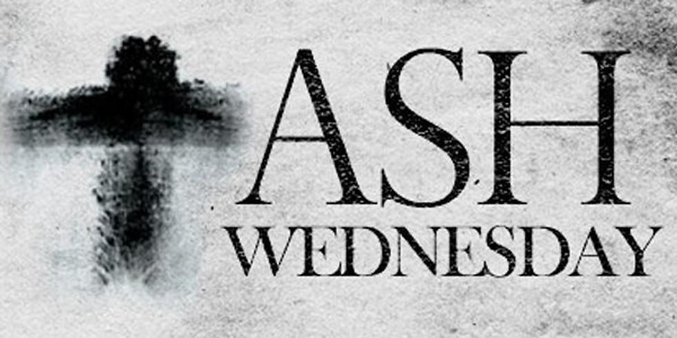 Ash Wednesday Mass (in Church)