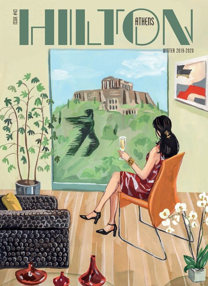 Cover for Hilton Athens