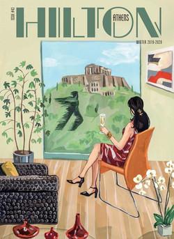Cover for Hilton Athens