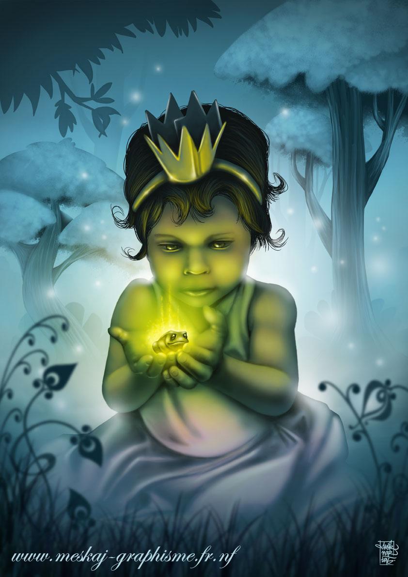 Princesse-Clara-et-la-grenouille-magique-couleur
