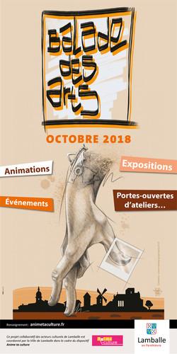 Balade des arts 2018