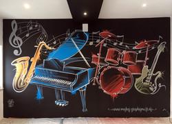 Deco musique lounge