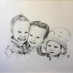 Commande portrait de famille