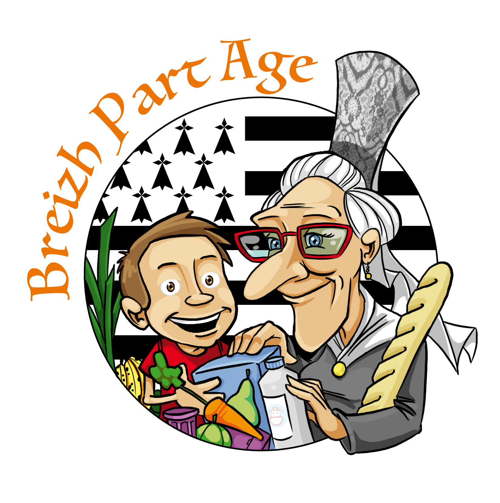 Logo Breizh Part Age